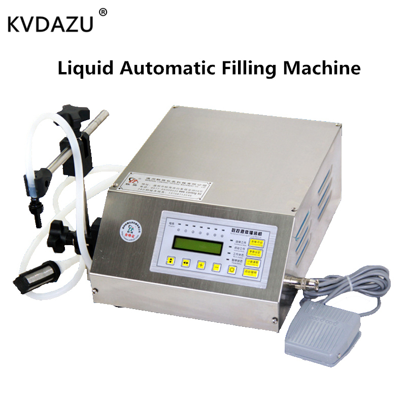 Liquid Automation Filling Machine Full Stainless Steel Adjustable Foot Quantitative Water Milk Perfume Juice Perfume Filler