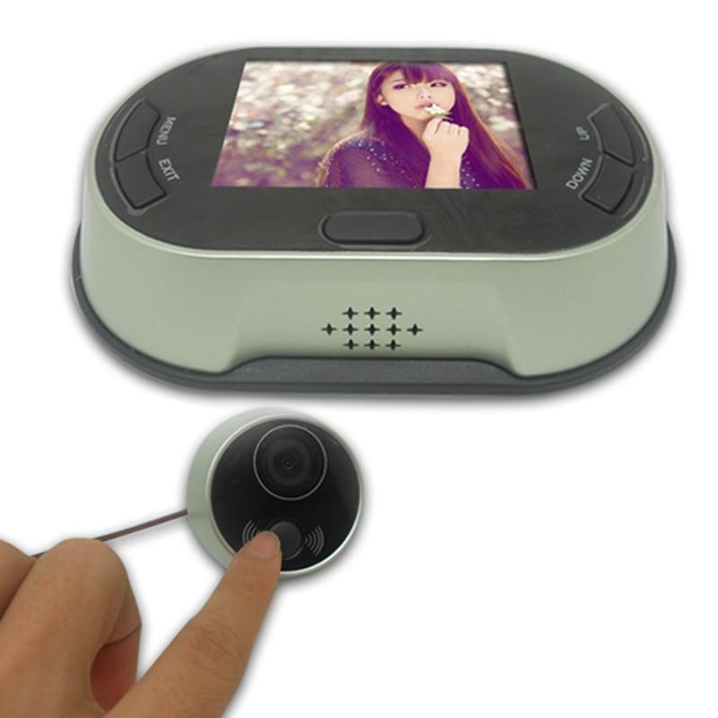 3.5 TFT LCD Screen Doorbell Viewer Digital Door Peephole Viewer Camera Door Eye Video record 150 Degrees Night vision 300k pixe цена