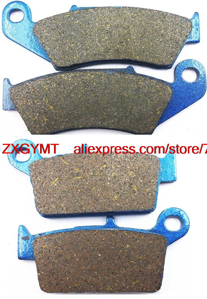 Motorcycle Semi Met Brake Pads Set for HONDA XR250 XR 250 S, R 1996 & up motorcycle semi met brake pads set for honda xr250 xr 250 s r 1996