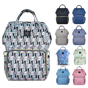 Image 2 - Clearance Original LAND Diaper Bag Large Capacity Nappy Bags Nursing Bag Fashion Travel Backpack Mommy Daddy Bebek Bag