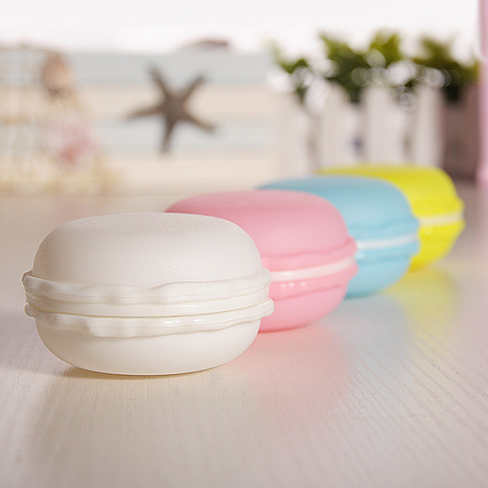10PCS/Lot Macarons Candy Box For Mini Earphone SD Card Storage Box Case Carrying Pouch Sweet And Cute Gift