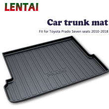 EALEN 1PC Car rear trunk Cargo mat For Toyota Prado 7 Seats 2010 2011 2012 2013 2014 2015 2016 2017 2018 Car Boot Liner Tray brand new fuel pump for toyota verso s 1 3l distributor petro pump injection 1nr fe 19000 47200 2010 2015 2011 2012 2013 2014