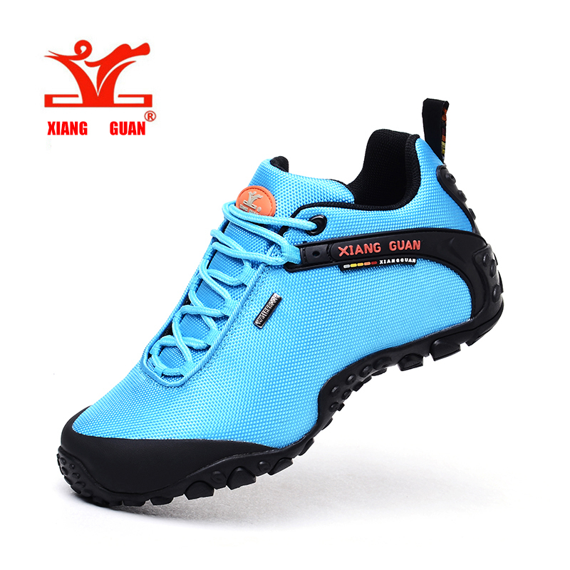 Women Sport Hiking Shoes Waterproof Climbing Mountaineer For Female Trekking Outdoor Walking Sneakers Slip Resistant XIANGGUAN  цены