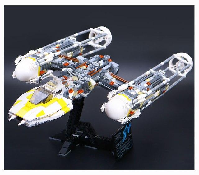 Lepin 1473pcs UCS Y Wing Attack Starfighter Building Blocks Bricks ...