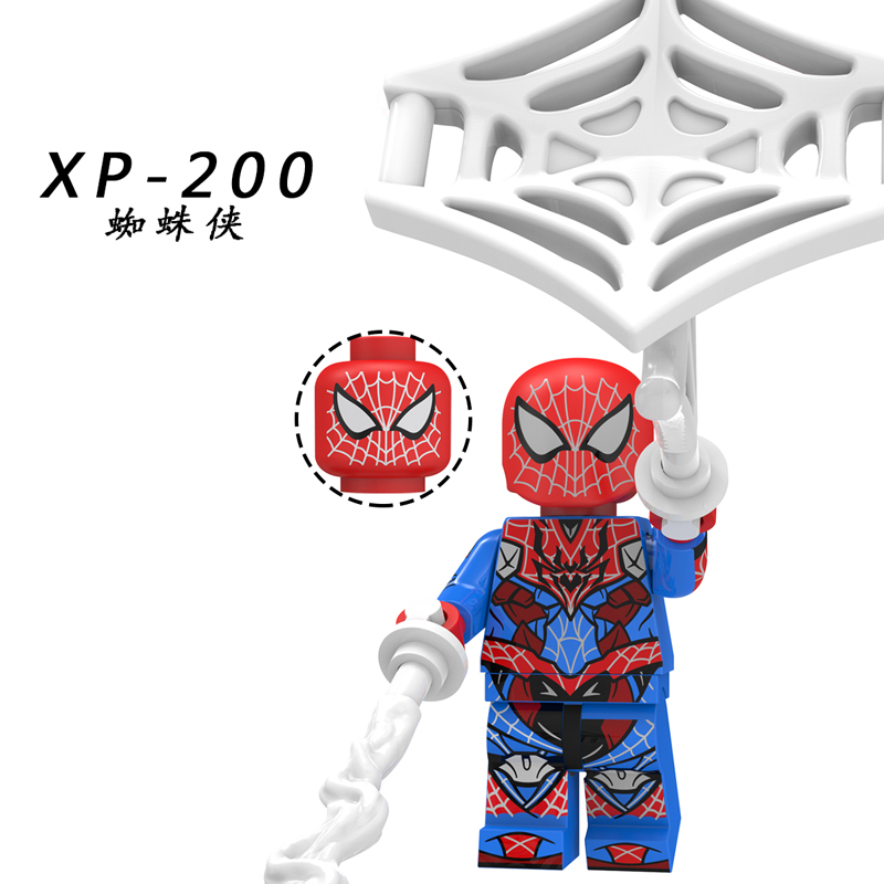 Image 3 - Spider Man Far From Home Figure o Mysterio Spider Man Noir Gwenom Building Blocks Bricks Toys Compatible With Lego KT1027-in Blocks from Toys & Hobbies