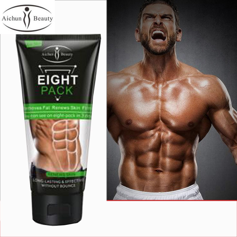 Beauty Powerful Stronger Body Cream MEN Muscle Strong Anti Cellulite Burning Cream Slimming Gel For Abdominals Muscle 130g