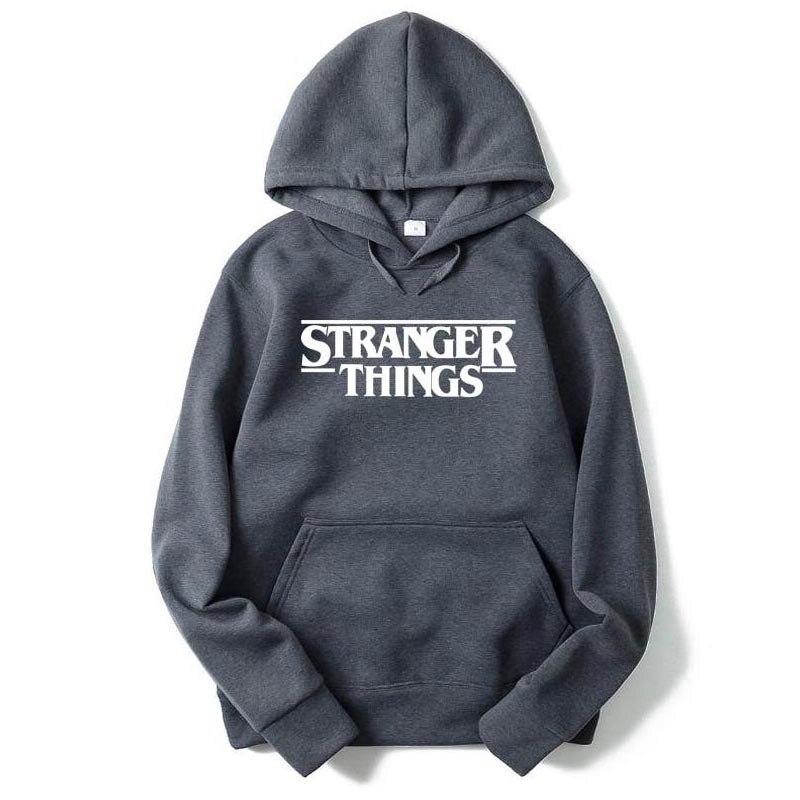 Hoodies Stranger Things 2 Hooded Mens Hoodie Women Sweatshirts Oversized Autumn Winter Hip Hop Men Hoodies Sweatshirt