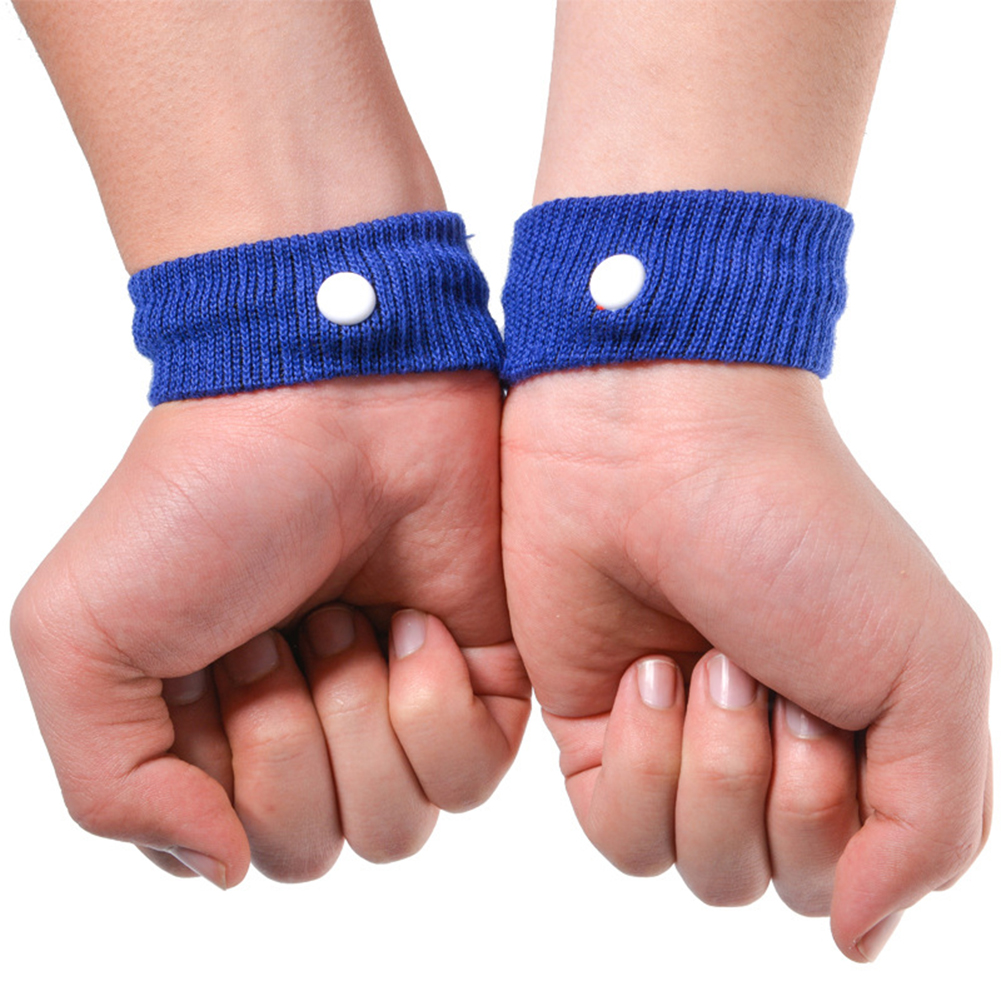 1 Pair Morning Motion Sickness Relief Wrist Band Nausea ...