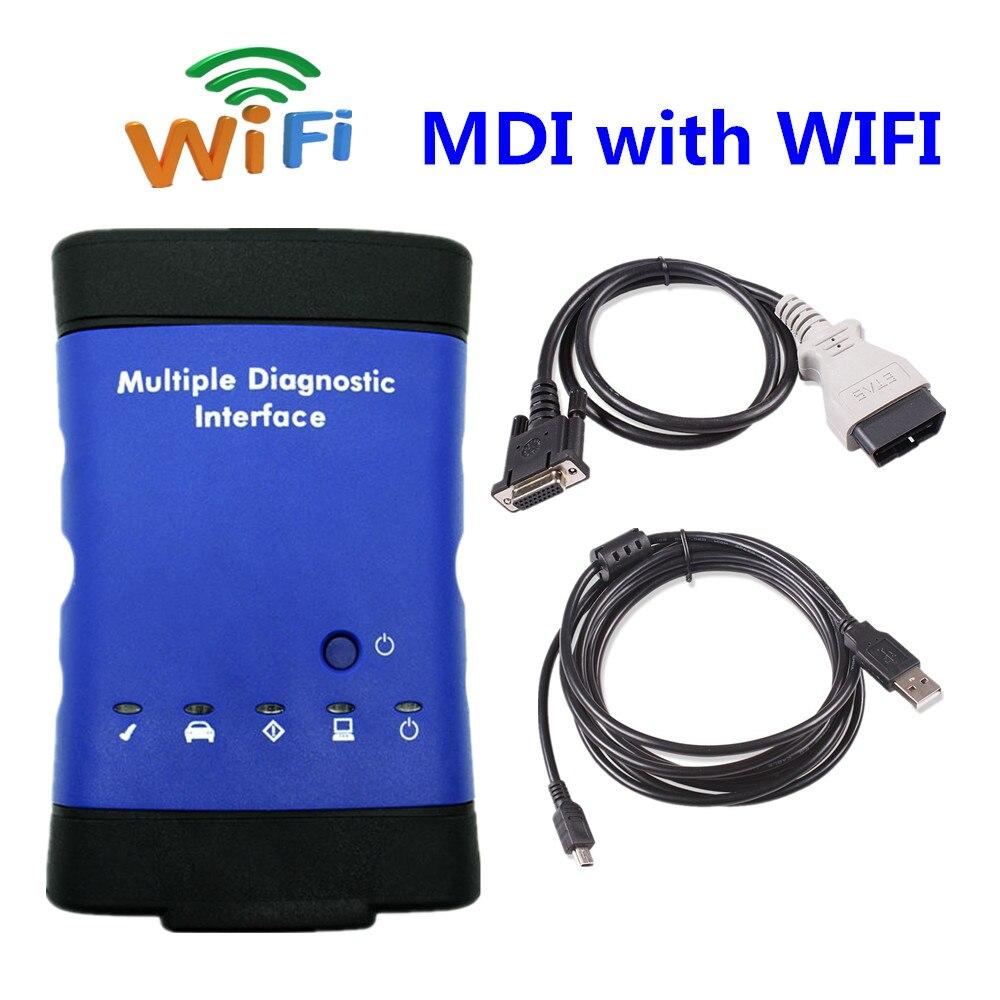 Цена за 2017 GM MDI с WI-FI GM MDI Множественный Диагностический Интерфейс gm mdi Сканер диагностический сканер без программного обеспечения бесплатная доставка
