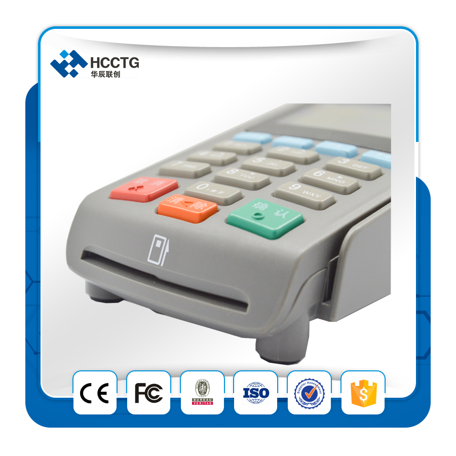 USB/RS232 Interface à option ATM Cryptage Pin Pad Paiement Machine Avec MSR Z90PD - 3