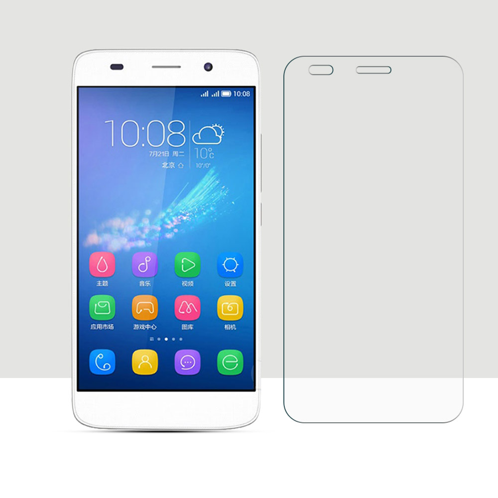 Screen Protector For Huawei Y6 Honor 4A Tempered Glass 2.5D Curved Edge Protective Film For Huawei Y6 Honor 4A Full Coverage HD