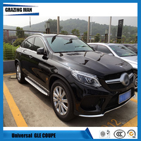 Auto Roof Racks Luggage Carrier Rails Baggage For Mercedes Benz C292 GLE COUPE GLE320 GLE450 GLE AMG 2015 2016 2017 15 16 17