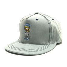 Canvas Cowboy The Simpsons Cartoon Figure Hip Hop Caps Lot Streetwear Fashion Hats Man Woman Lover B-boxing  Gorras Mujer Visor
