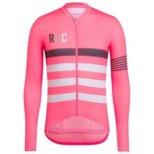 2018 New quality Spring autumn Side stitching breathable mesh Cycling Jersey  long sleeve Cycling clothing Classic daac71e3f