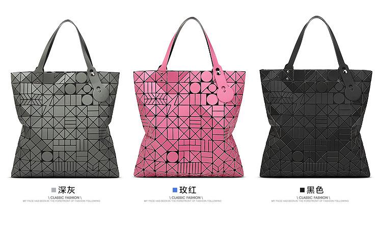 Big European Women Hand Bag tote Geometric large baobao Bag Luxury Brand High Quality geometry bao bao Handbag Bags Designer 6