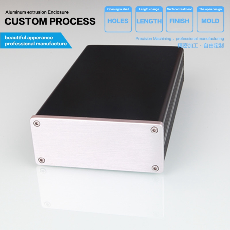 114.5*47-180 mm(w x h -d free) Mini type full aluminum fever amplifier manufacturers direct sales audio power board amplifier