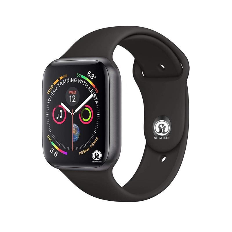 Nuovo Bluetooth Ssmart Serie di Orologi 4 42mm Smartwatch di caso per Apple iphone 6 7 8 X e telefono Android