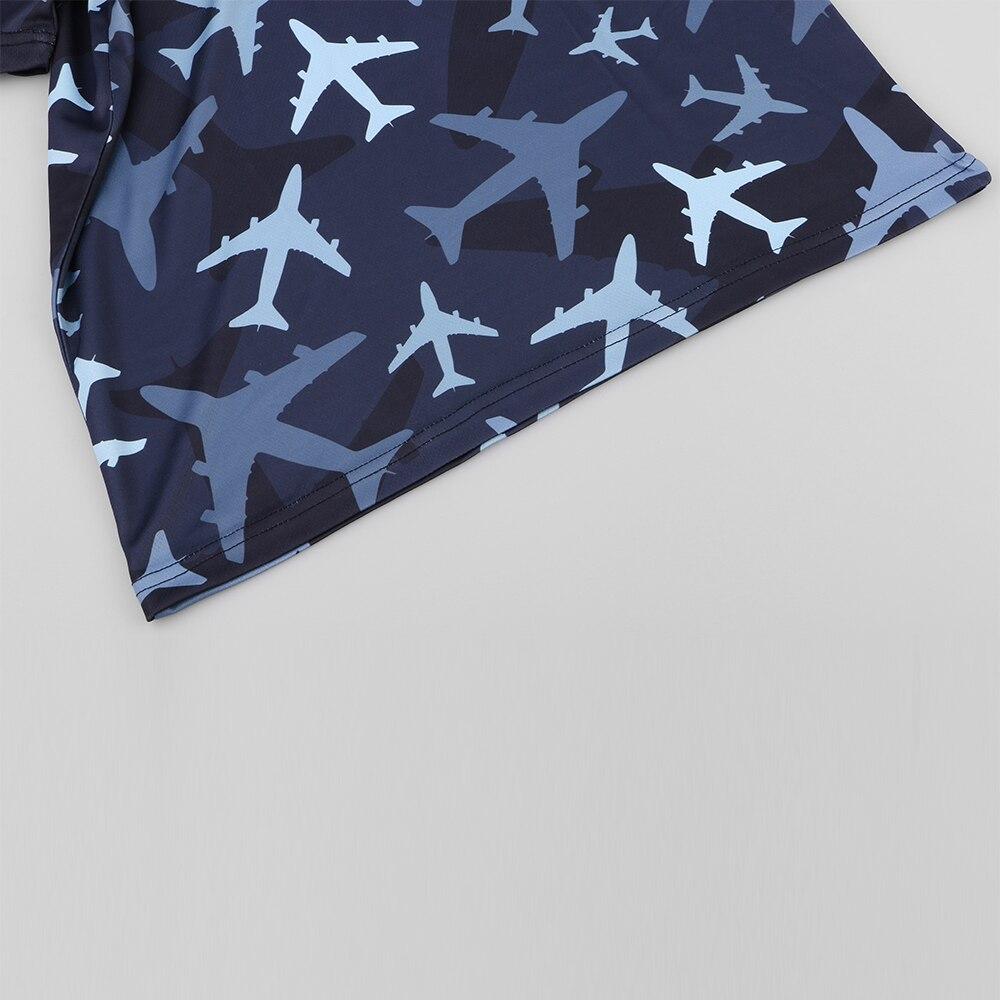 KYKU Aircraft moška majica majica maskirna vojaška majica fitnes - Moška oblačila - Fotografija 4