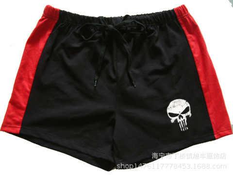 Muscle-pantalones cortos de algodón para hombre, pantalones cortos de algodón respirables de estilo 20, para gimnasio, fitness, culturismo