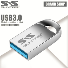 Suntrsi USB Flash Drive 128GB Metal Mini External USB 3.0 Pen drive 64GB 32GB high speed Pendrive 16GB USB Stick Flash Drive