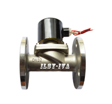 DN32 DC24V two way stainless steel Normally closed flange solenoid valve