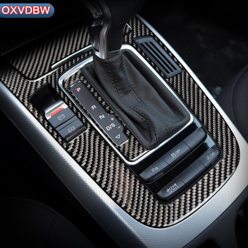 Pegatina Accesorios de Ajuste Aire Acondicionado Lateral Fibra de Carbono para Ventana de Coche para Mazda CX-5 CX5 2017-2019 2020 KF Marco Salida de ventilaci/ón Cubierta
