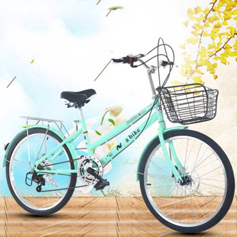 New 20-Inch Speed Change Bicycle Adult Male And Female High School Student Commuter Bicycle Speed Change Bike Brake Bike
