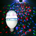 Голосовое управление из светодиодов магический хрустальный шар вращения свет этапа лазерный луч KTV бар освещение красочные этап лампа 3 Вт 85 - 250 В