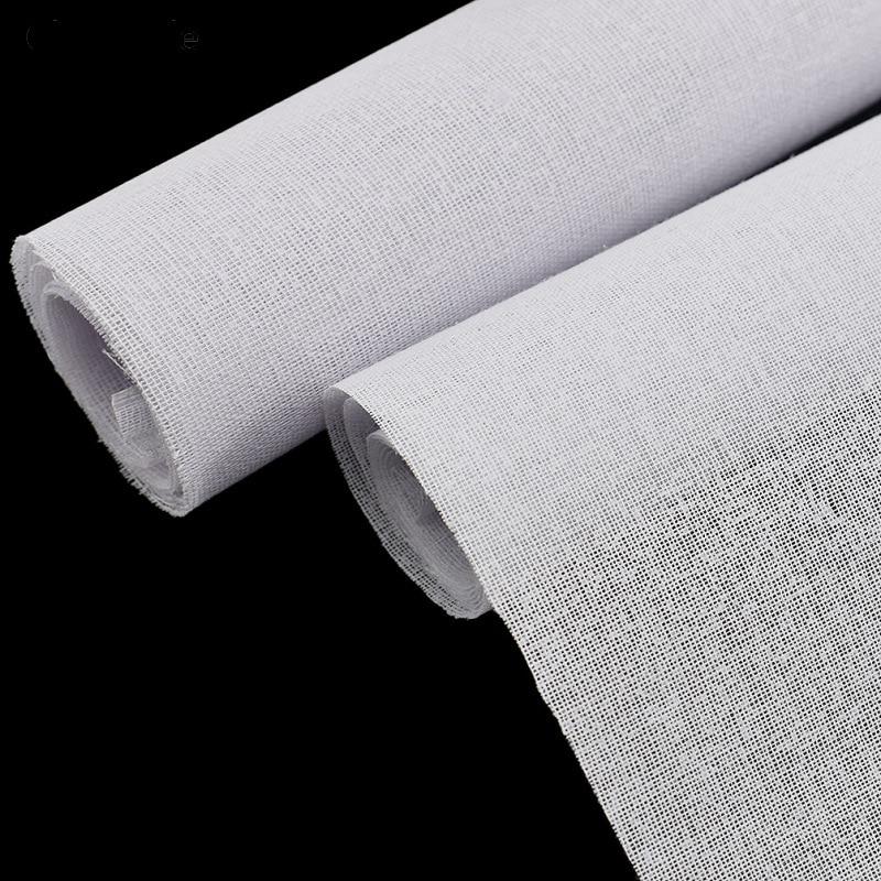 Lychee vida interfacing costura tecido 45x112cm resina ferro no forro diy retalhos pano materiais artesanais