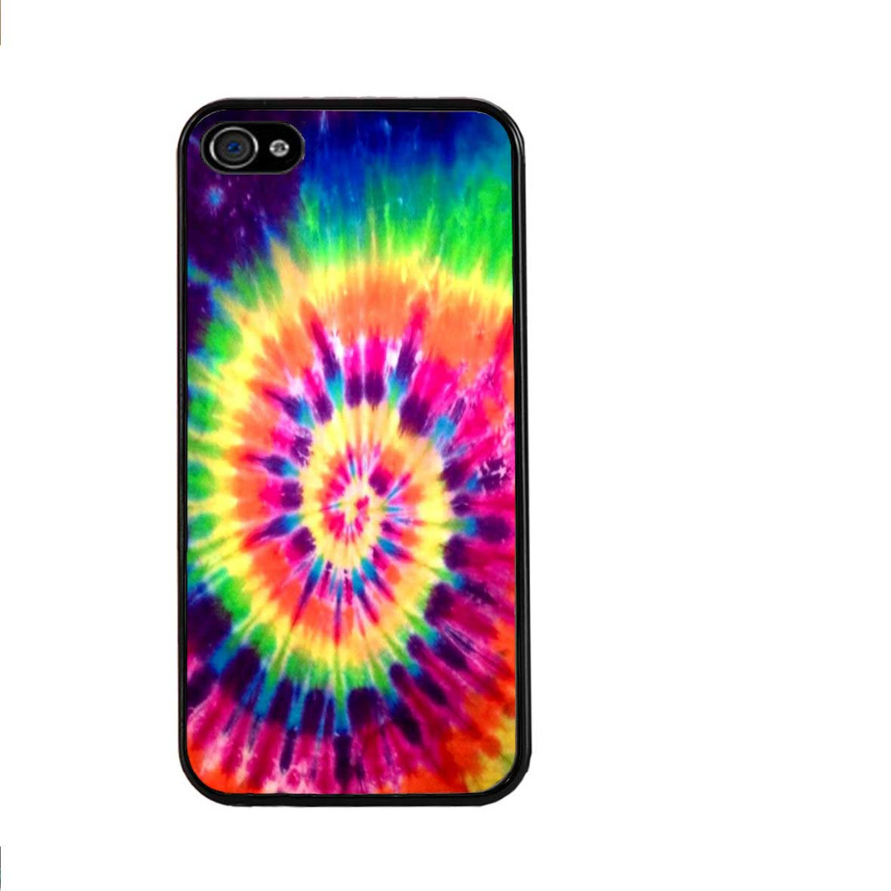 Tie Dye Pattern Batic Rainbow Colourful Retro Ink Hard Cell Phone Cover Case for iphone 4/4s/5/5s/5c/6/6s/6plus/6s plus/7/7plus
