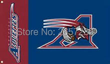 Montreal Alouettes Flag 3x5FT CFL banner 100D 150X90CM Polyester brass grommets custom66,free shipping