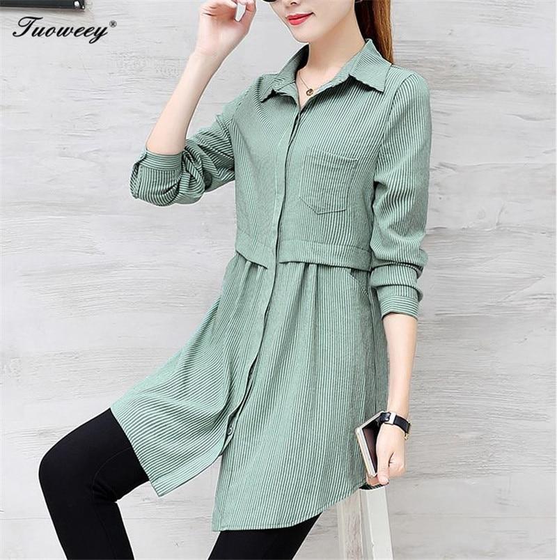 d57a32b2f10 2018 New Autumn Femininas Long Sleeve Blouses Shirts Blusas Business Wear  Casual Women Tops Work Shirt