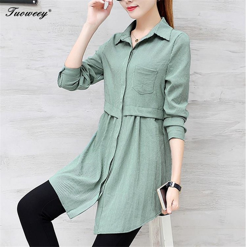 b4e11c027f8 2018 New Autumn Femininas Long Sleeve Blouses Shirts Blusas Business Wear  Casual Women Tops Work Shirt