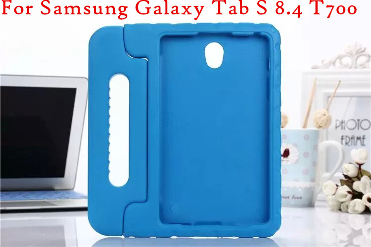 T700 Kids shockproof drop EVA mount stand hand handle back case cover For Samsung Galaxy Tab S 8.4 T700 T705 Tablet case
