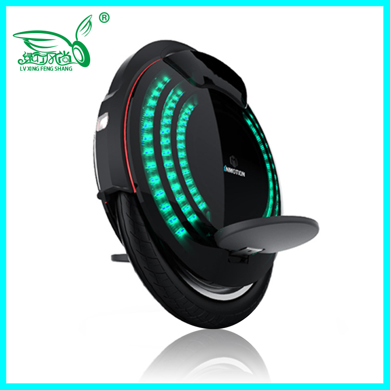 2019 INMOTION V8 Electric unicycle International Edition registered APP Colorful pattern built in rod 800W motor