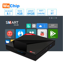 Smart TV box Android 8.1 4GB 64GB 2.4G/5G Wifi RK3328 Penta-Core BT V4.0 4K HD add Type-c USB X88 Max + Ott Player PK H96 max(China)