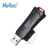 Netac U208S Write Protect Usb Flash Drive Pendrive Encrypted Antivirus USB2.0 Flash Drive 8G 16G 32G Black Plastic Memory Stick