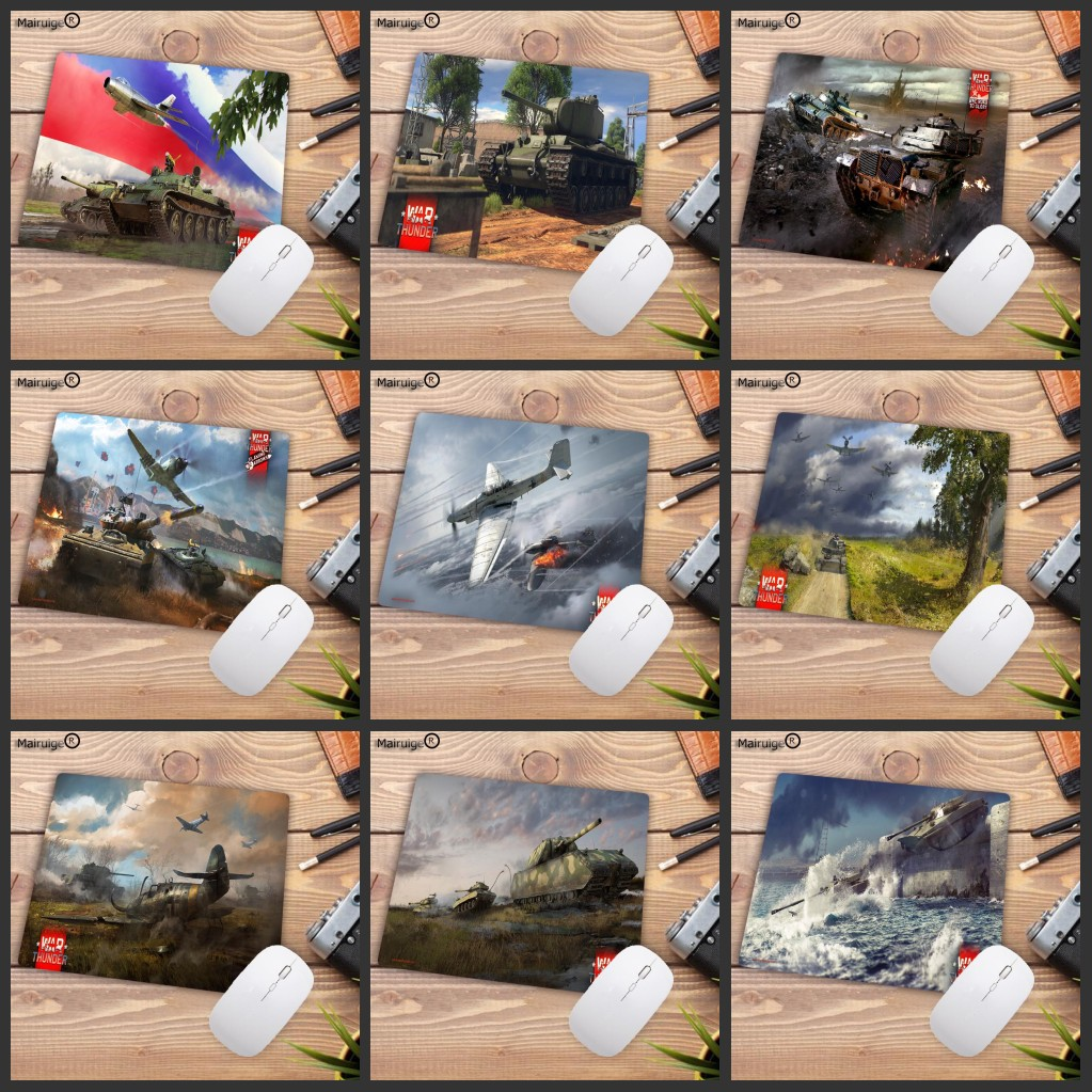 Mairuige Big Promotion War Thunder Gaming Mouse Pads Of Computers Gamer Speed Mice Retail Small Rubber Mousepad  220X180X2MM
