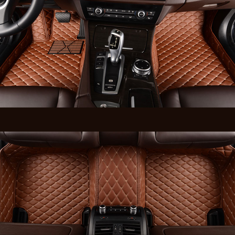 kalaisike Custom car floor mats for Mitsubishi All Model ASX lancer pajero sport outlander pajero dazzle car styling accessories in Floor Mats from Automobiles Motorcycles
