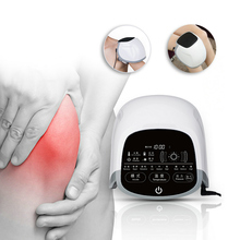 Knee Pain Massager Treatment for Rheumatoid / Joint Arthritis With LLLT Low Level Cold Laser Therapy new infrared magnetic therapy knee massager rheumatoid joint arthritis relieve pain hot sale