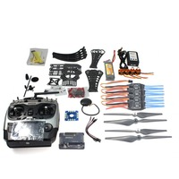 DIY RC Drone Quadrocopter ARF X4M360L Frame Kit with GPS APM2.8 AT10 TX F14892-D Self-locking Props 920KV  Brushless Motor