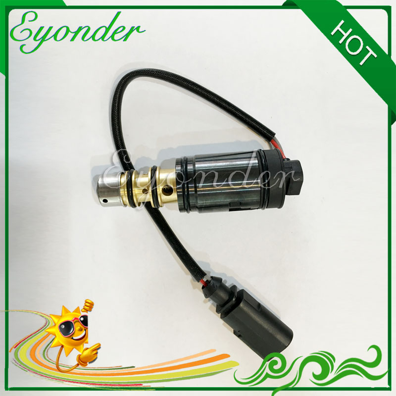 A/C AC Aria Condizionata Compressore Elettronico Valvola di Controllo A Solenoide 6SEU12C 7SEU16C 7SEU17C per Toyota Audi Volkswagen Pontiac