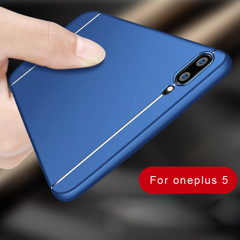 cover For Oneplus 5 Case Synchronous sale New Frosted Anti knock PC Hard Case Wrestling Three