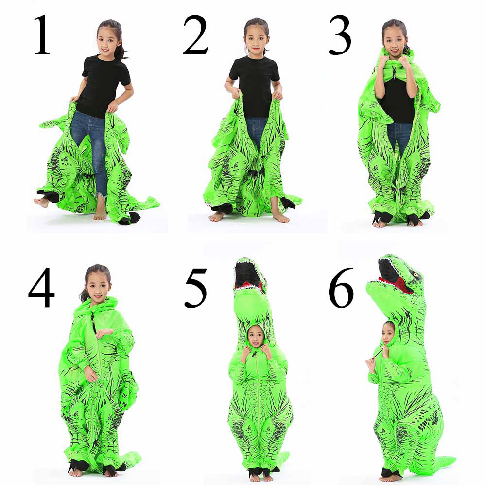 JYZCOS Adult Fantasy T REX Inflatable Costume Halloween Cosplay T Rex  Costumes Dinosaur Costume Party Fancy Dress For Men Women In Anime Costumes  From ...