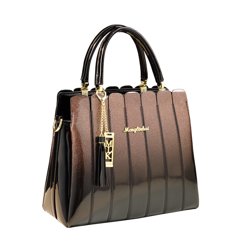 New top handle bags for women leather handbags famous brand patent leather clutch ladies office tote patchwork messenger bag sacNew top handle bags for women leather handbags famous brand patent leather clutch ladies office tote patchwork messenger bag sac