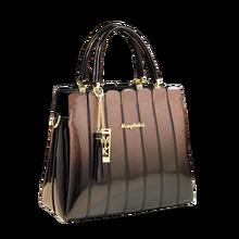 cdfc74252 Nuevo mango bolsas para las mujeres bolsos de cuero de marca famosa patente  embrague de cuero