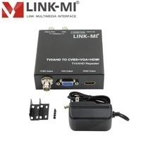 LINK MI TVH2 hd video balun for AHD/TVI 720p/1080p video converter camera cctv video With 1xlooping TVI/AHD output 300M
