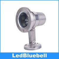 12V 3W LED Underwater Light Swimming Pool Lamp Landscape Light Warm White Pure White Waterproof IP68