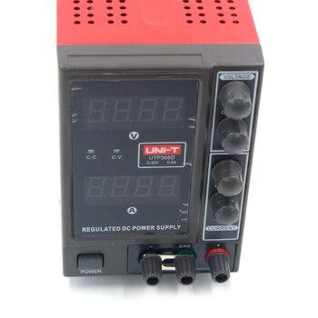 Цифровой импульсный источник питания UTP305D, 30 В, 5 А, однофазный регулируемый регулятор напряжения 0,1 В, 0,01a для ремонта ноутбуков
