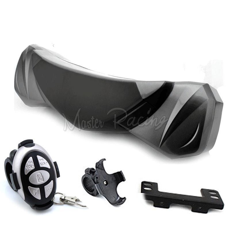 где купить 2016 Motorcycle stereo Alarm System theft MP3 Player Audio Sound System waterproof LED Light Speaker SD TF Card USB Moto audio дешево